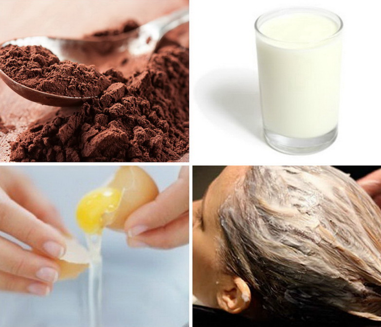 Маска для сухих волос кефир яйцо