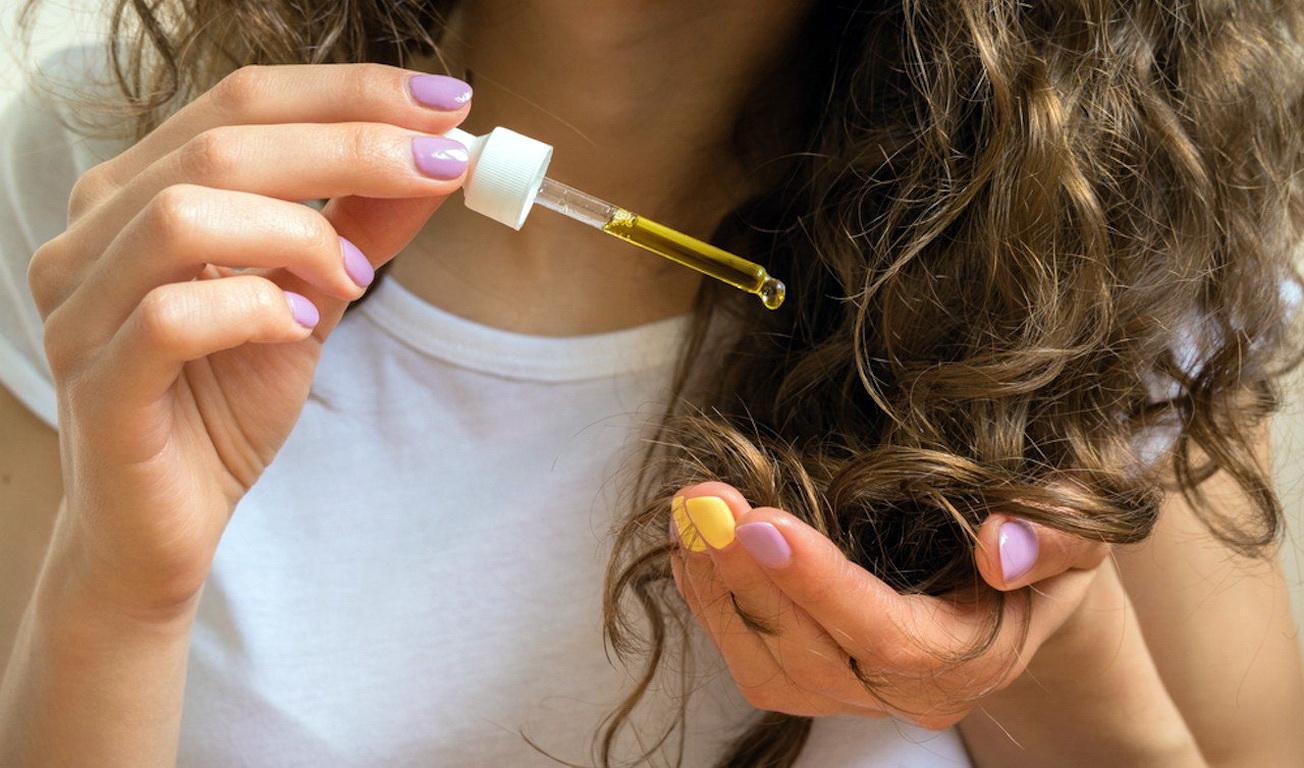 Масло арганы для волос на ночь