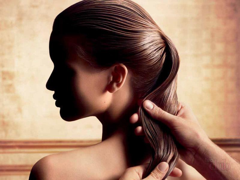 Маска против сальности волос