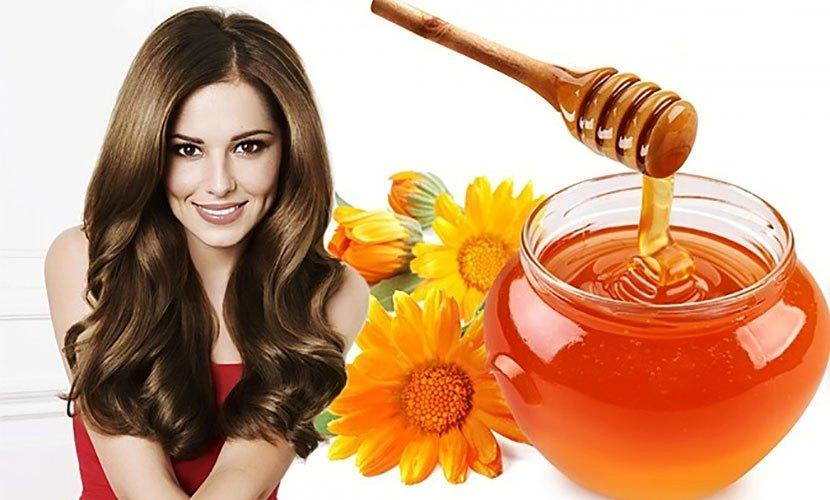 Косметика для волос с медом