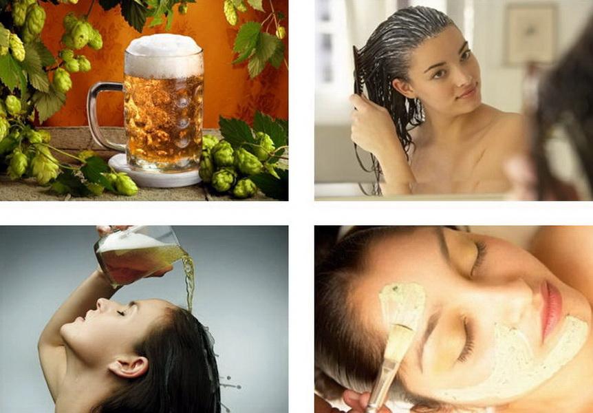 Маски для волос на пиве в домашних условиях