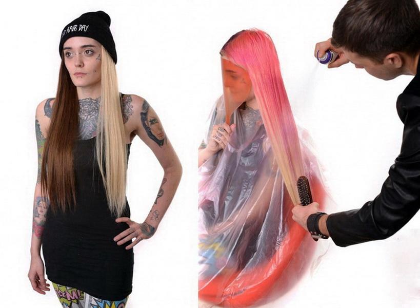 Как краску для волос смыть с одежды