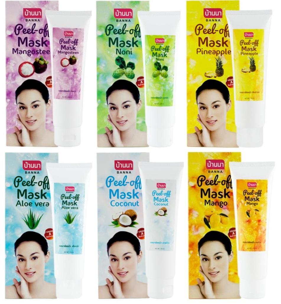 Ингредиенты тайских масок