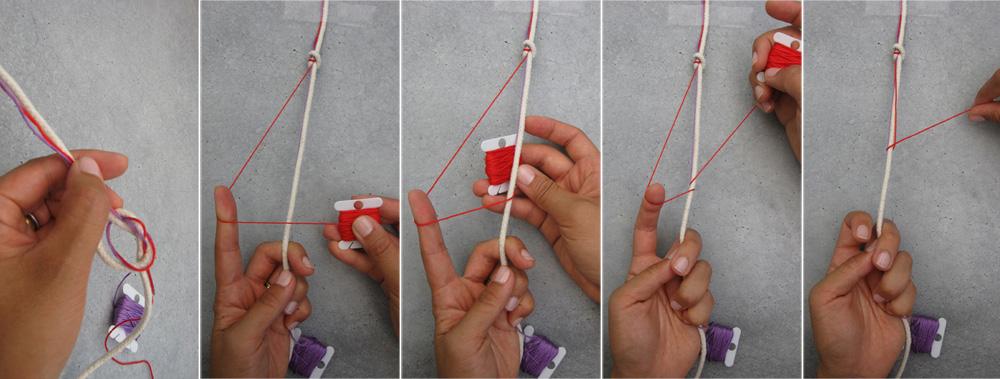 Как сделать ее из нитки и пуговицы
