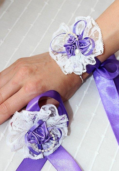 Браслет для свадьбы на руку своими руками