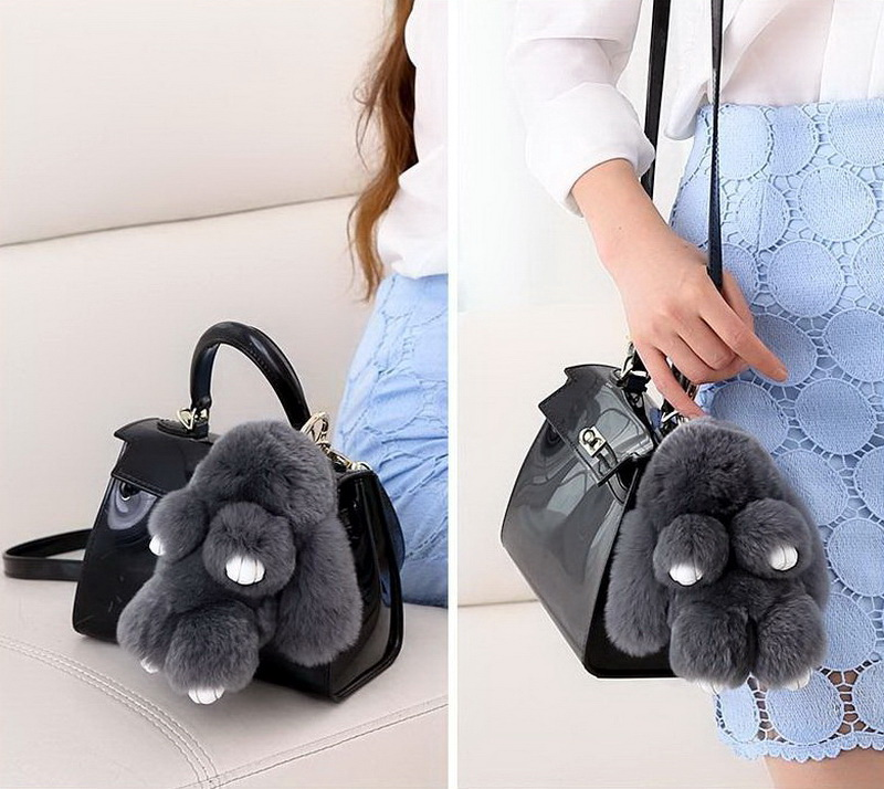Брелок кролик на рюкзаки своими руками 89