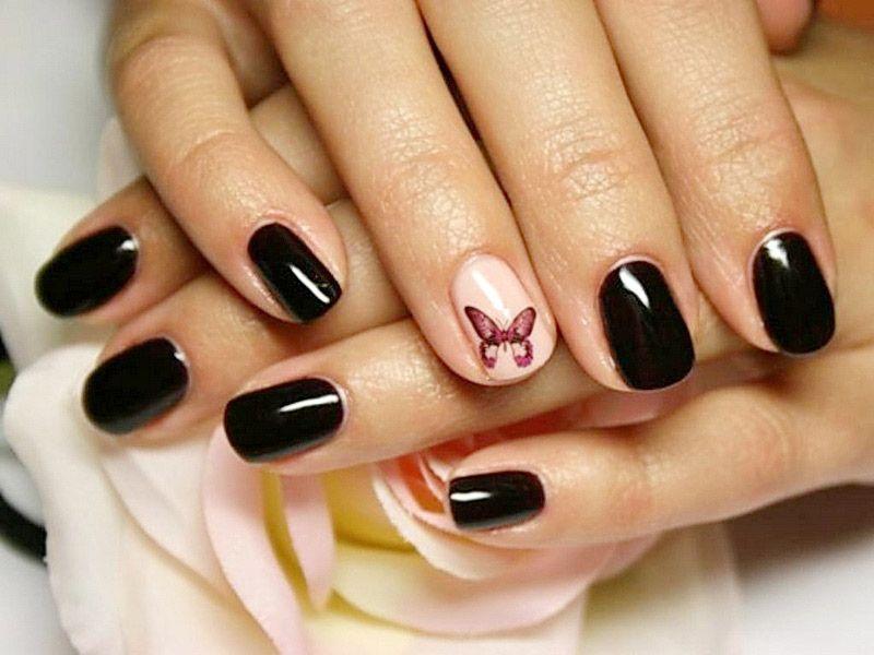 Дизайн ногтей шеллаком (фото) - фото и описание примера 61