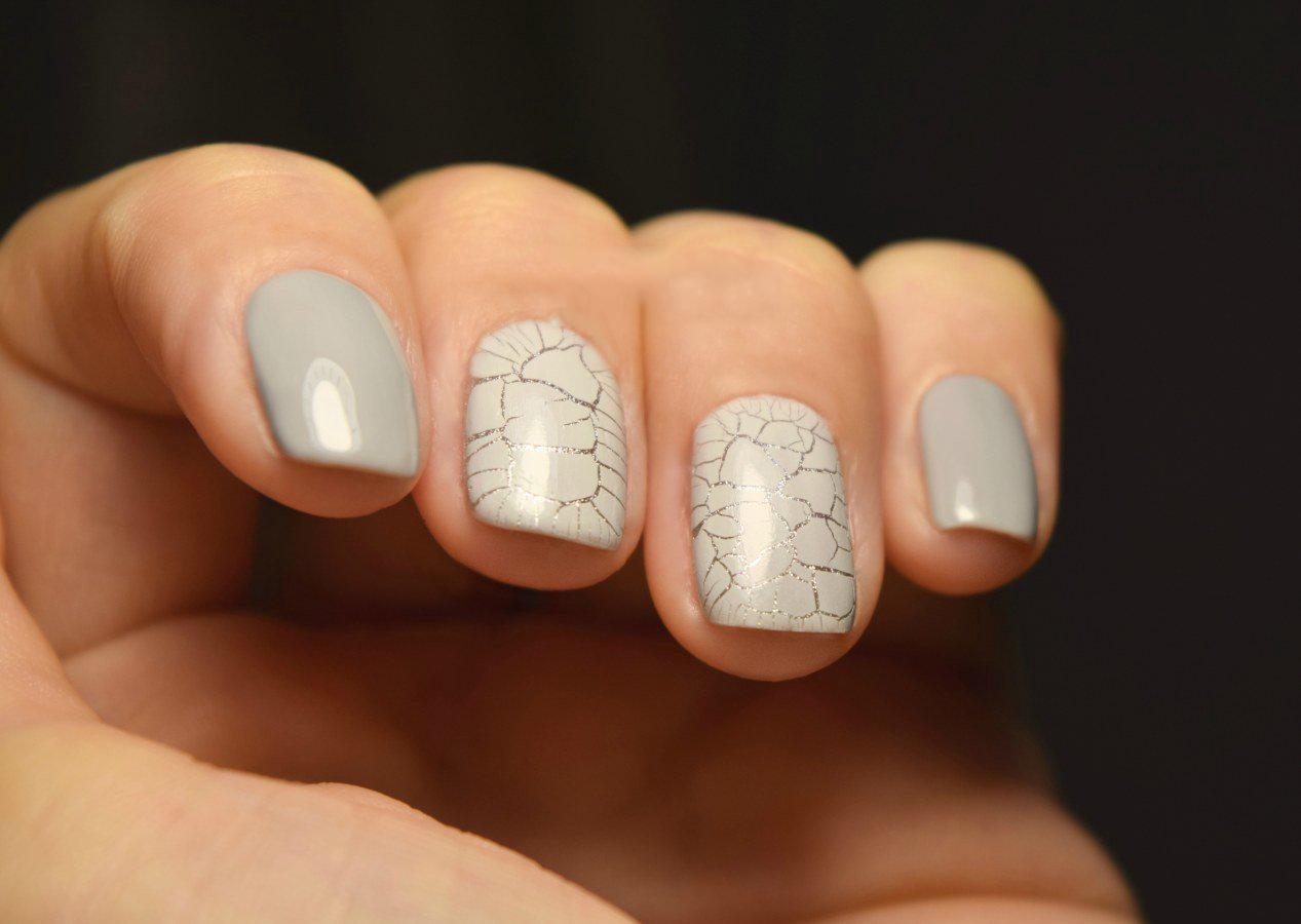 Трескающийся лак фото ногтей