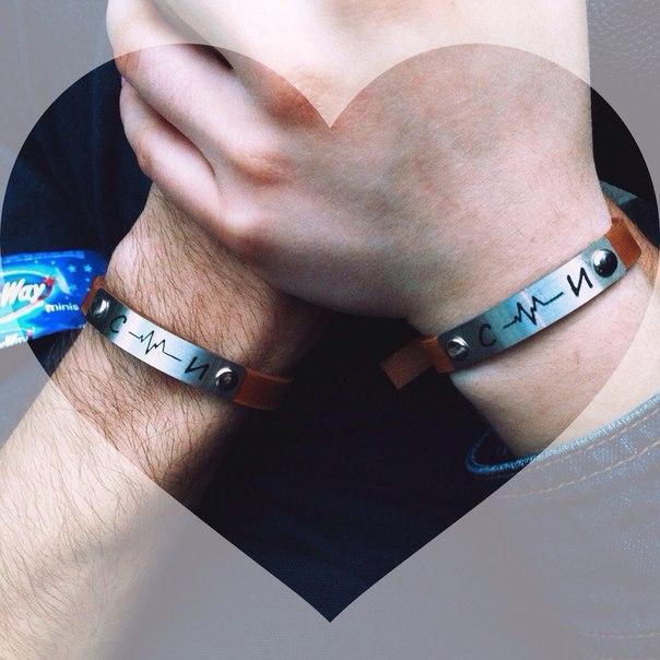 Кожаный браслет с металлической вставкой своими руками 38