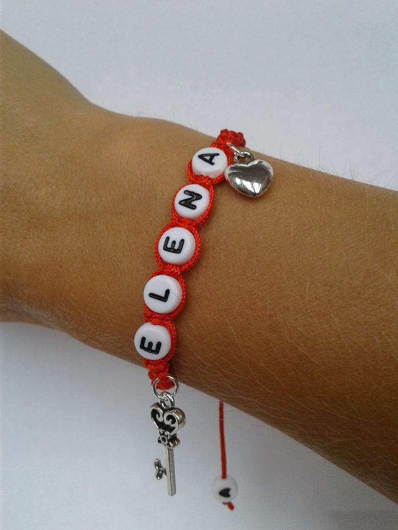 Как сделать именные браслеты с буквами 190