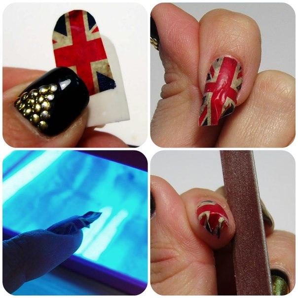 Как сделать термонаклейки на ногти