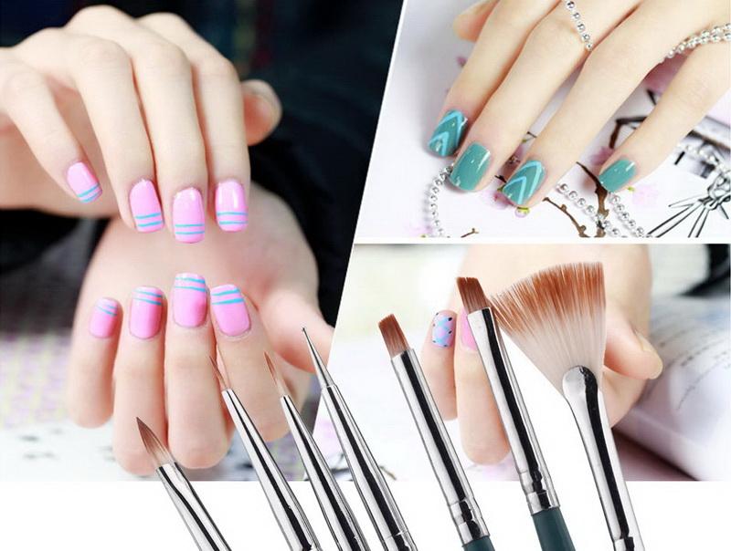 Какие кисти нужны для дизайна ногтей гель лаком
