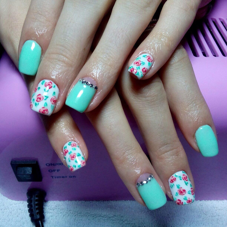 Фото весеннего дизайна ногтей гель лак