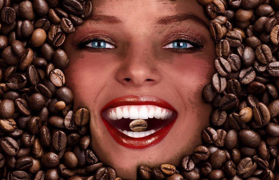 Маска для с кофе домашних условиях 90