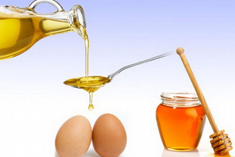 Маска для волос мед желток сок лука масло