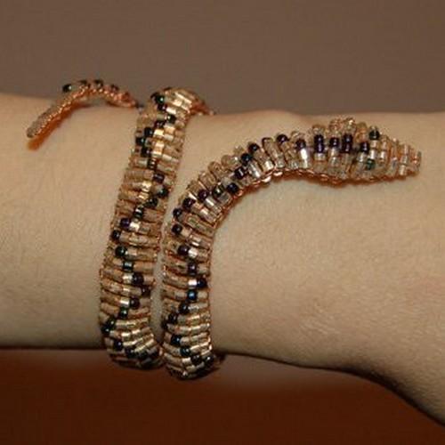 Как сделать своими руками змею для украшения