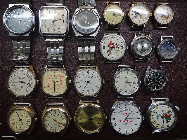 6c0fdf097d5d Наручные часы из СССР (21 фото): Победа и Слава, мужские и женские ...