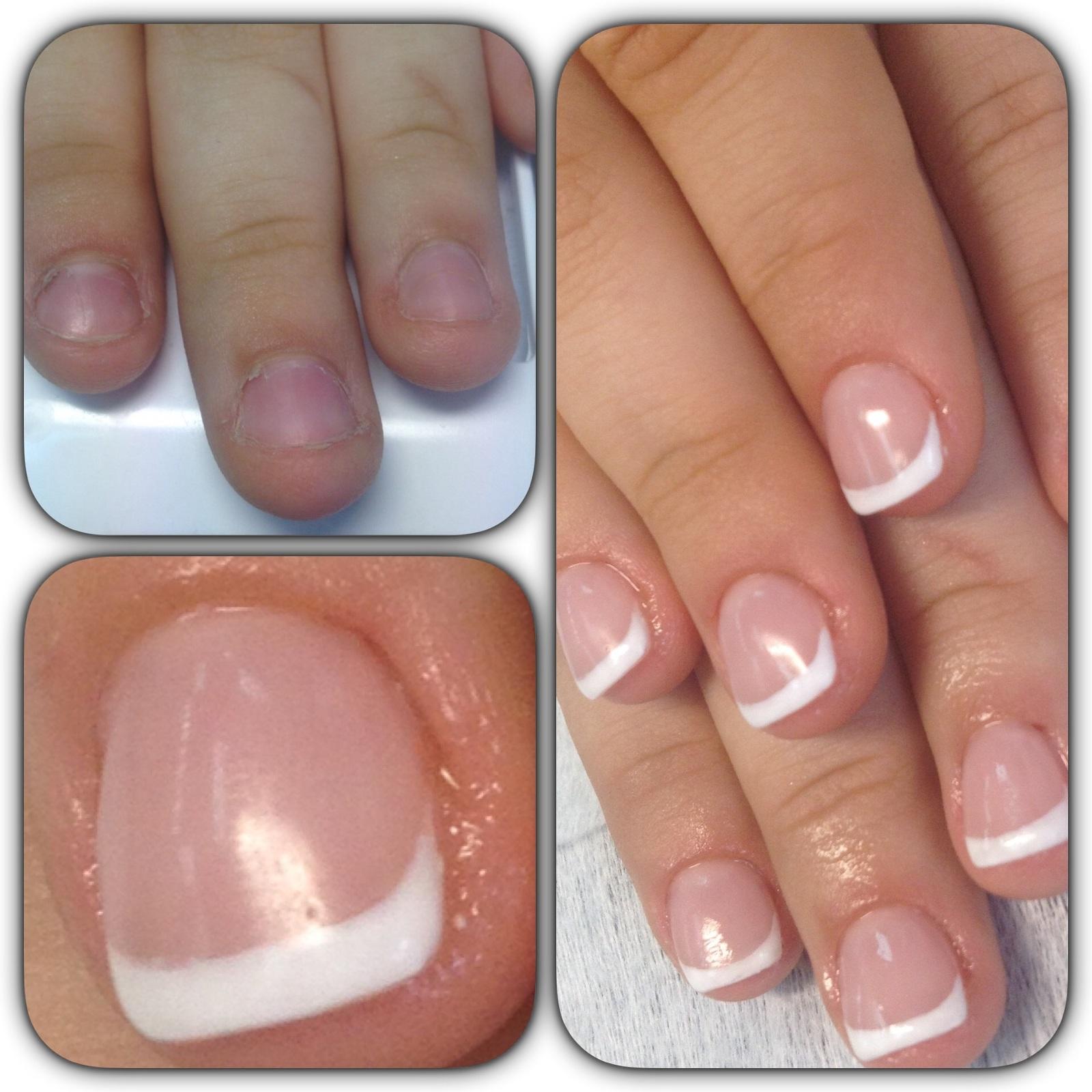 Как делать маникюр на обгрызенных ногтях