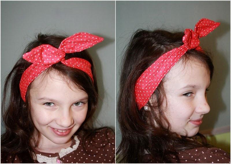 Как сделать повязку для волос своими руками 8