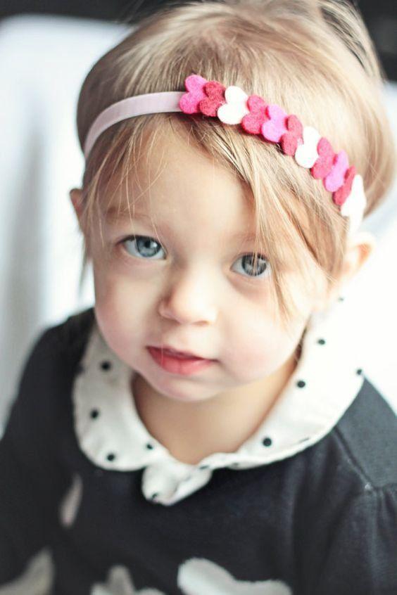 Детская повязка на голову своими руками 99