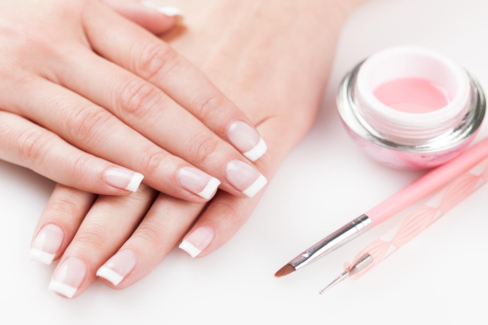 Как сделать прозрачные ногти в домашних условиях фото 991