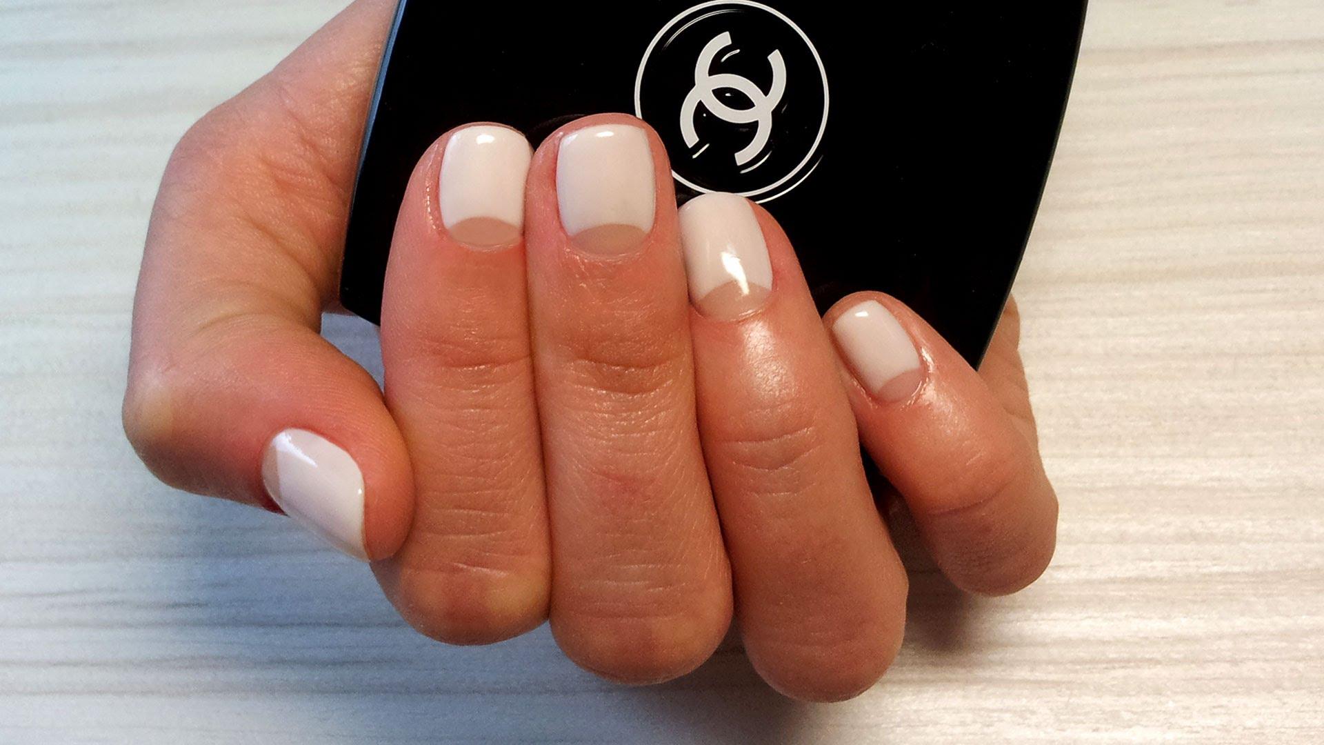 Как сделать прозрачные ногти в домашних условиях фото 50