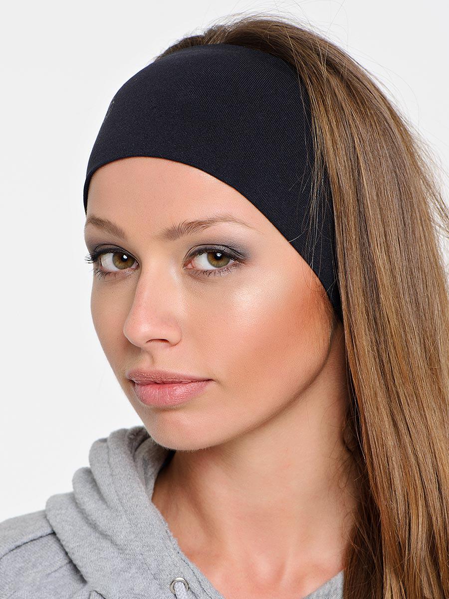 Как сделать черную повязку на голову