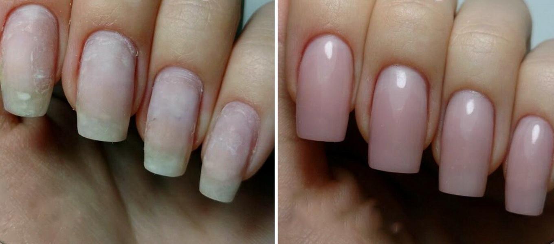 Видео как сделать ногти гелям фото 354