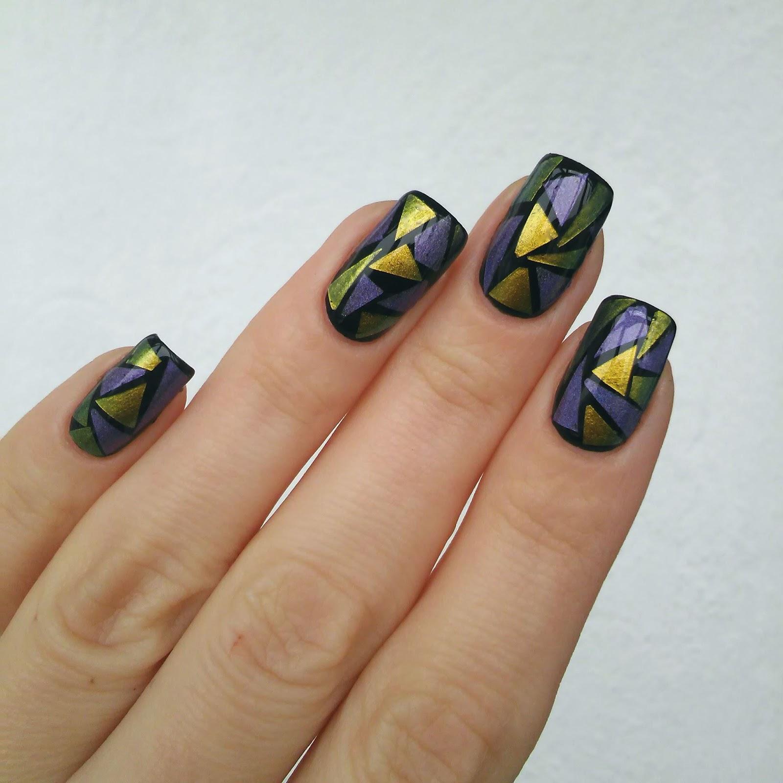 23 фото витражный дизайн ногтей и другие арт новинки маникюра