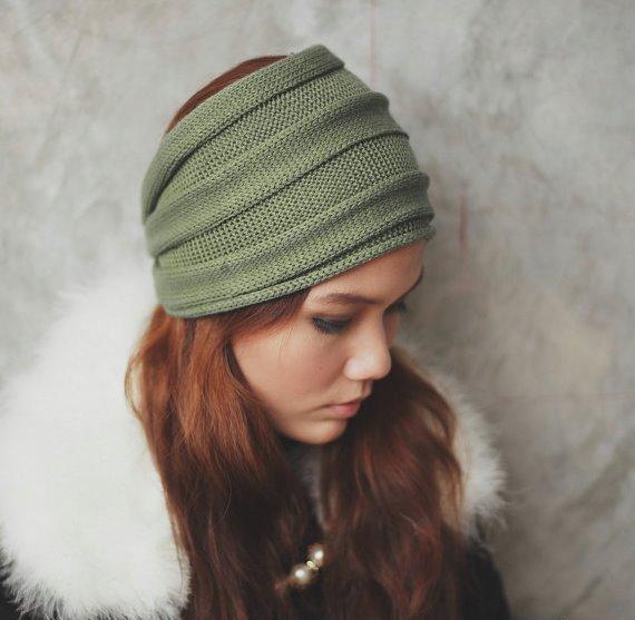 вязаная повязка на голову для девочки 36 фото детские изделия