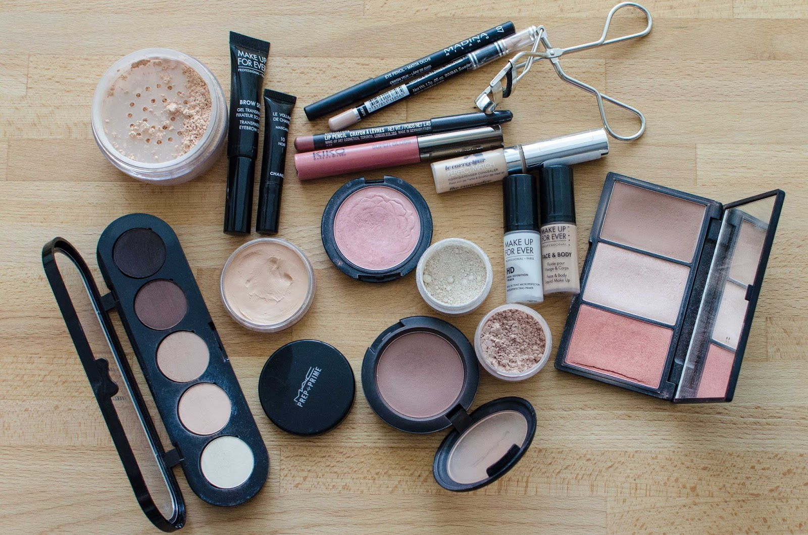 Что из косметики необходимо для макияжа