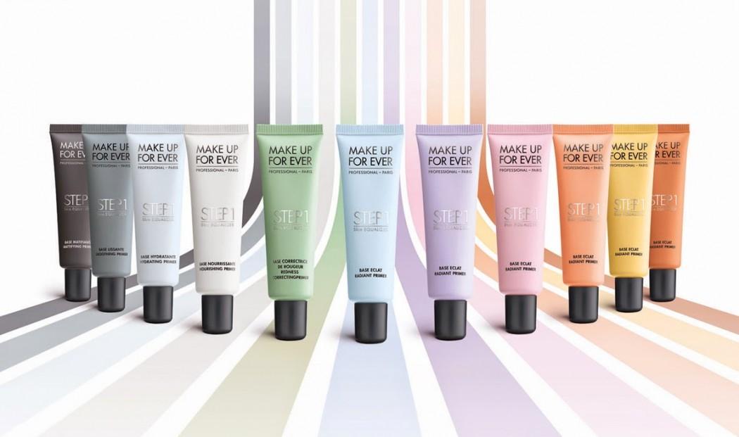 Цветная основа под макияж
