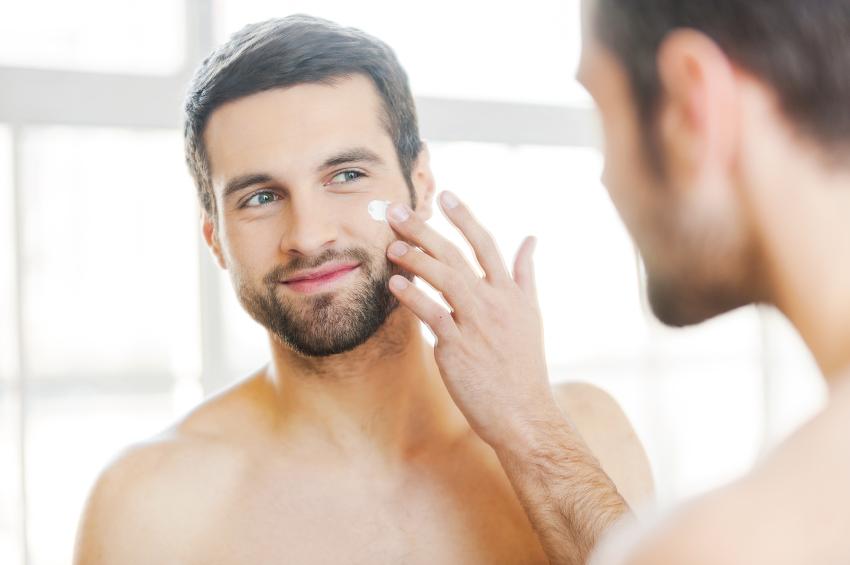 Когда не бреюсь кожа сухая