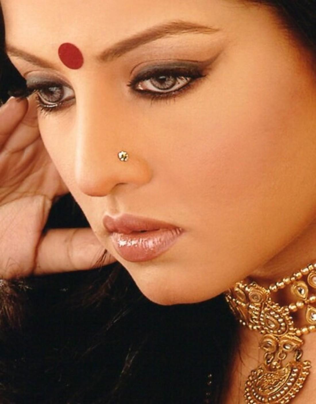 Макияж индийских звёзд фото