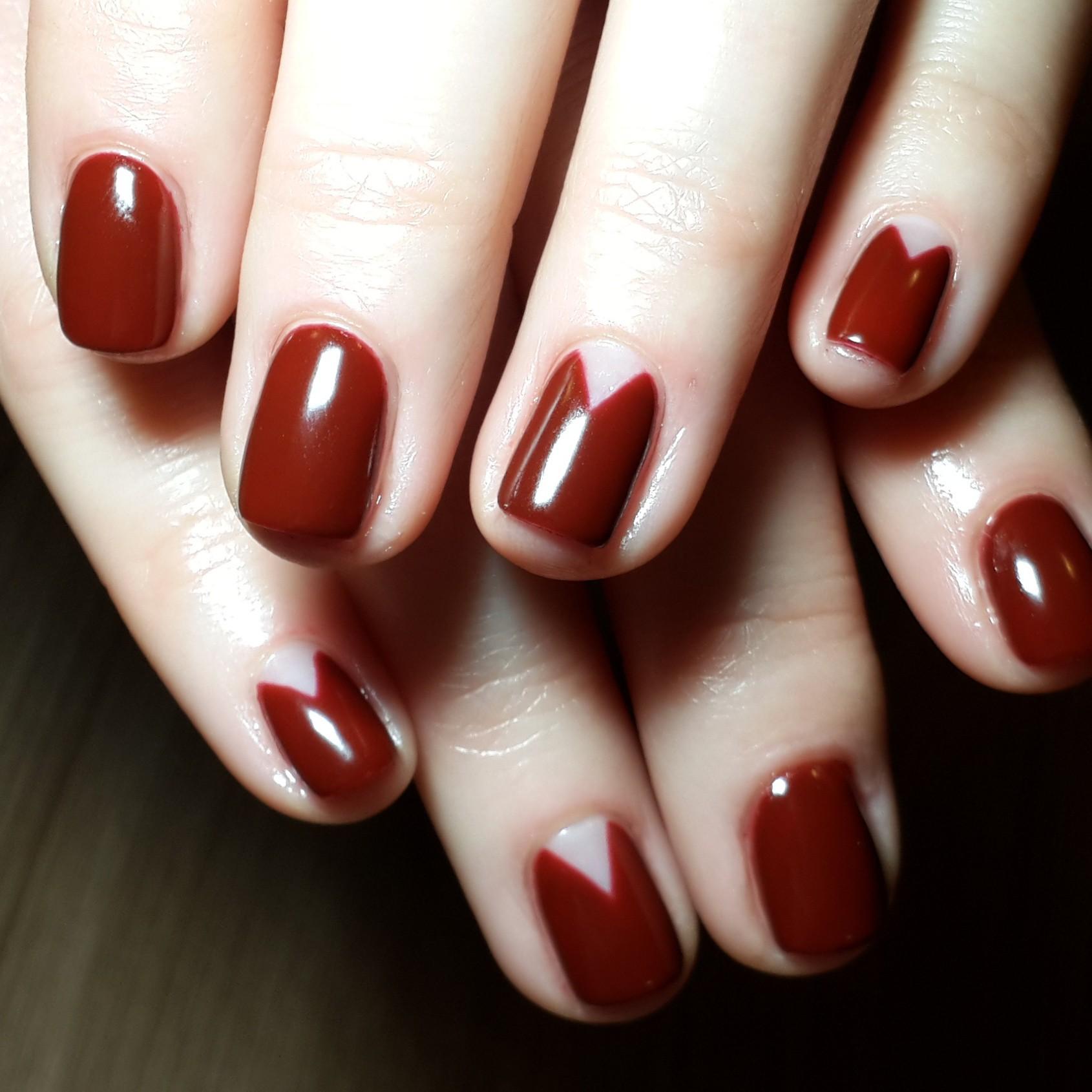Фото ногтей классический маникюр