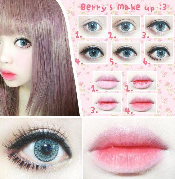 Как сделать аниме макияж фото 891