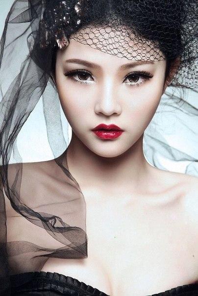 Правильный макияж для азиатских девушек