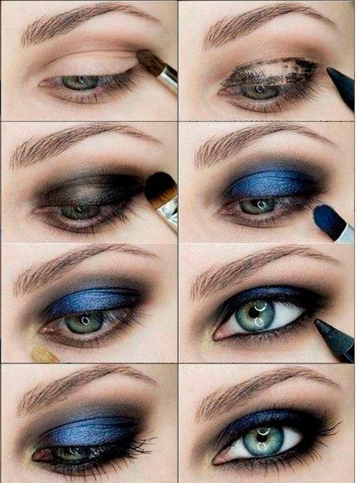 Макияж для голубых глаз смотреть
