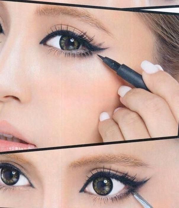 Как с помощью макияжа сделать глаза большими и выразительными