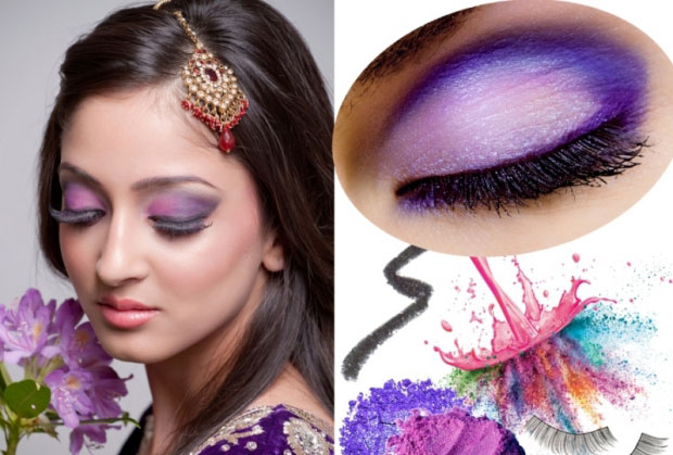 Drugstore Prom Tutorial  Purple Lilac amp Silver Sparkles