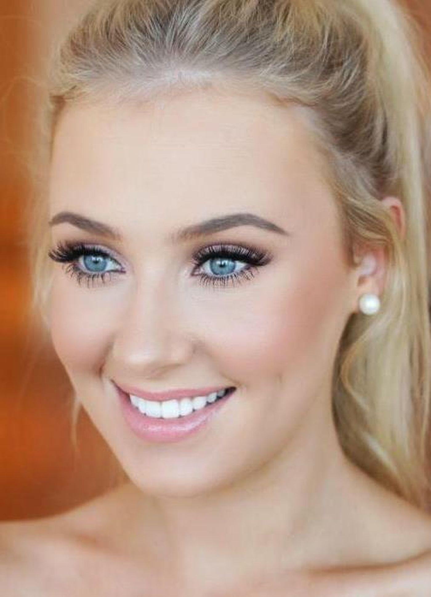 Повседневного макияжа для блондинок