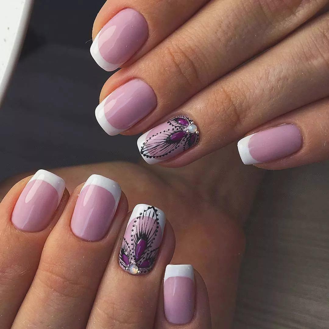 Дизайн нарощенных ногтей 100 фото новинок 2018 года