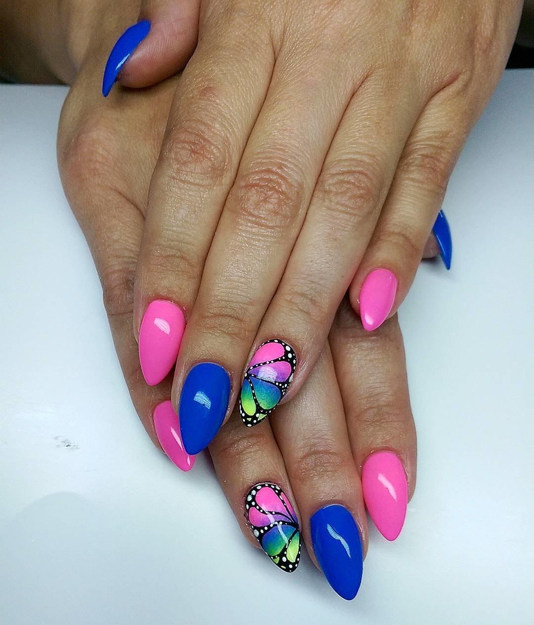 Слайдер-дизайн ногтей