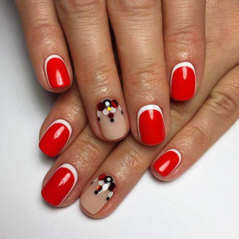 Комифубики дизайн ногтей на короткие ногти