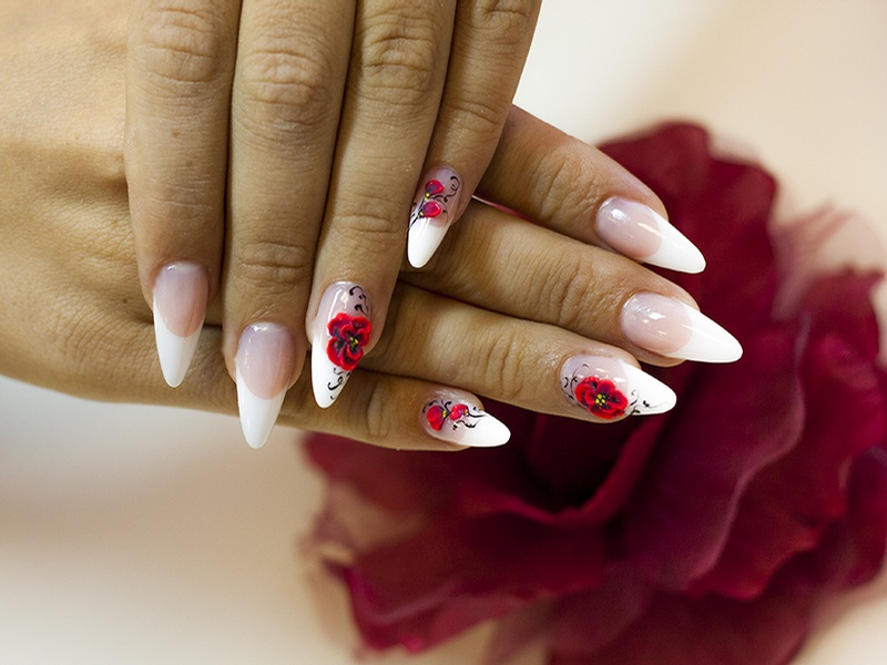 Маникюр дизайн ногтей фото лепка