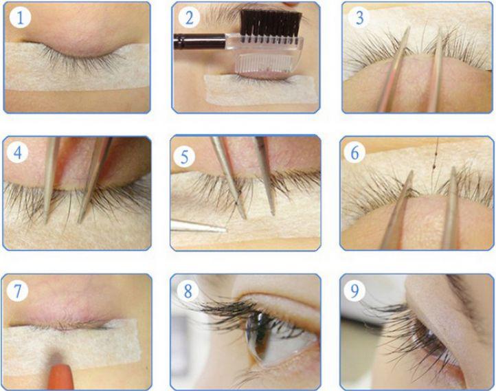 Как снят в домашних условиях нарощенные волосы капсулы
