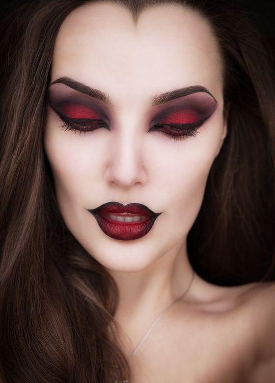 Необычный макияж - 79 фото