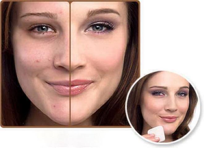 Макияж лица для жирной кожей лица