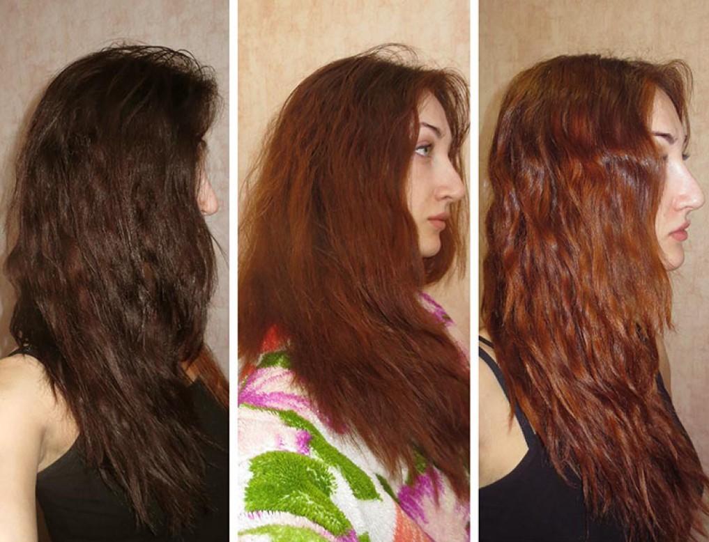 Как вымыть черный цвет волос без вреда