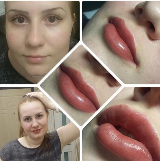 Фото перманентного макияжа эффект 3d
